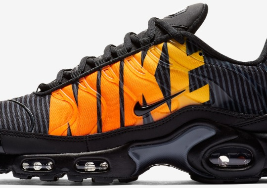 """Giant """"Mercurial"""" Nike Logo Appears On These Upcoming Air Max Plus Colorways"""