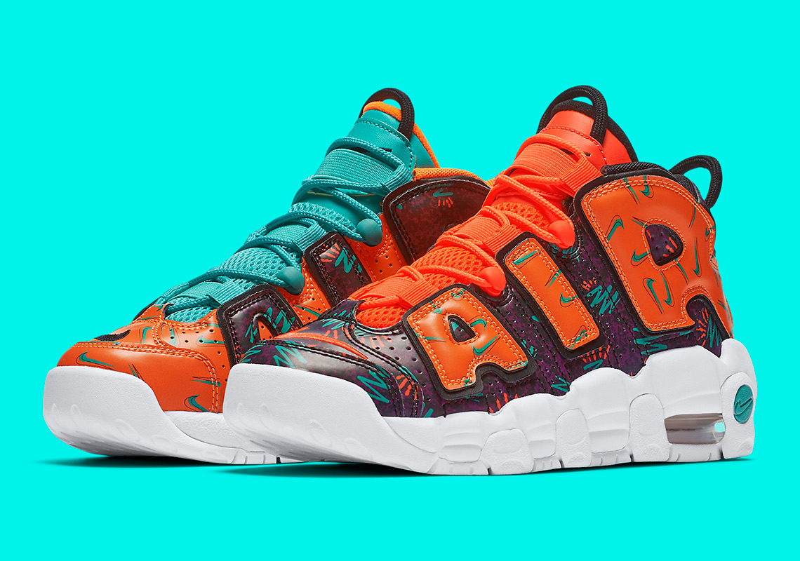 """056b7d390 Nike Celebrates The 90s With A """"What The"""" Air More Uptempo"""