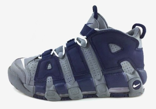 "Nike Air More Uptempo ""Hoyas"" Releases On August 30th"