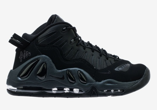 The Nike Air Max Uptempo 97 Is Dropping In Black And Navy