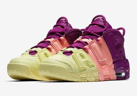 The Nike Air More Uptempo Is Releasing In A Vibrant Tri-Color 5be90ba61