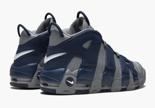 "Grab The Nike Air More Uptempo ""Georgetown"" Early"