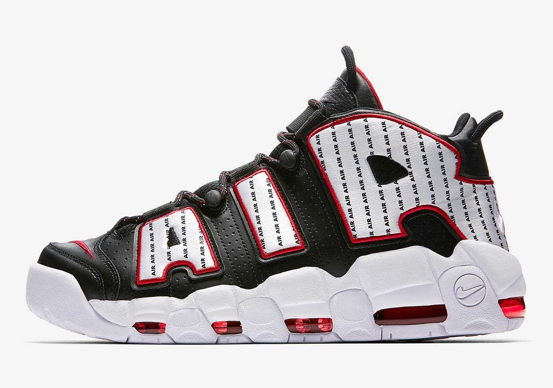 "the latest 06ef7 87c5c Nike Air More Uptempo ""Pinstripe"" Pack Celebrates 1996"