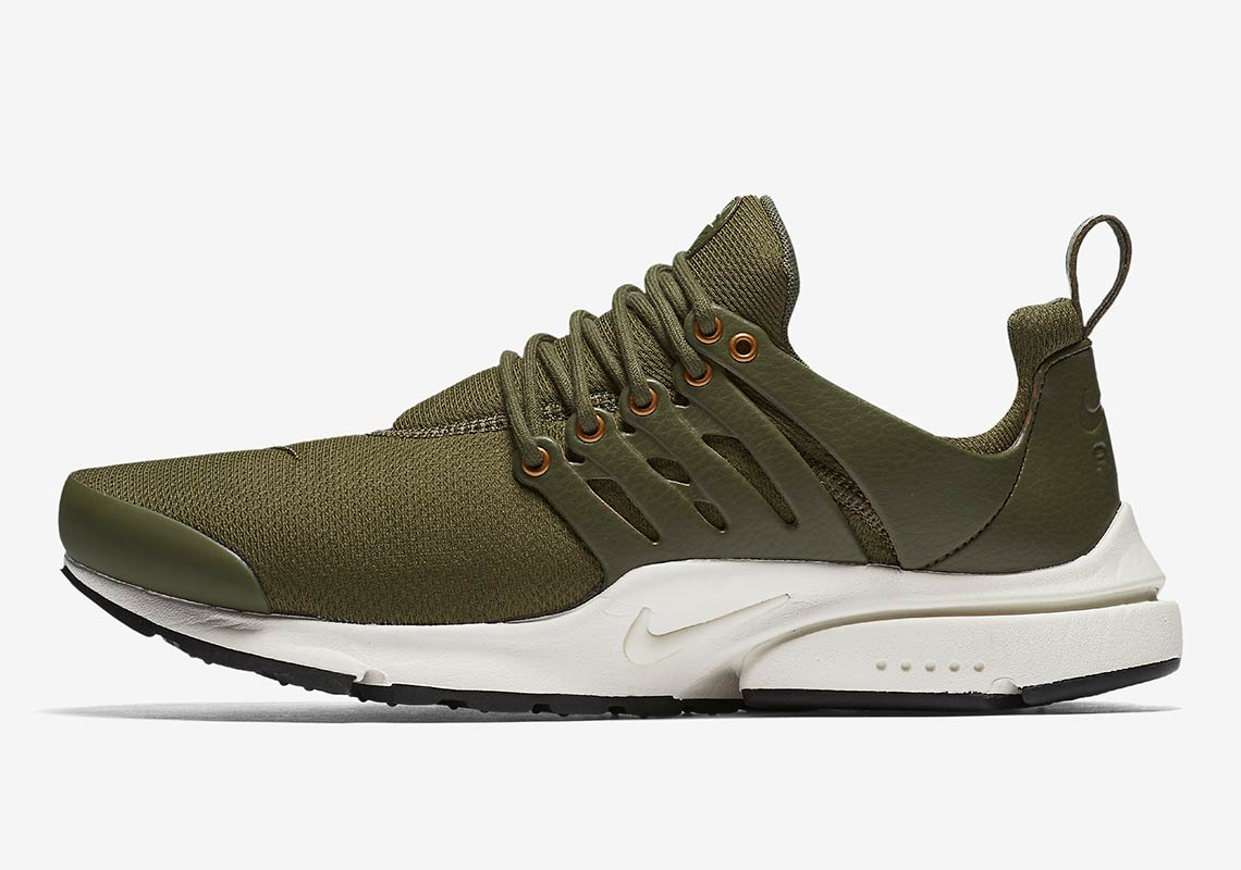 new arrival 49c46 de8f2 ... germany nike air presto premium available at nike 140. color medium  olive sail metallic bronze