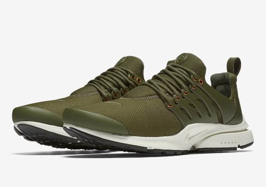 online store c6012 7f661 Nike Air Presto Premium Drops In Two New Colorways