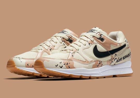 Desert Camo Prints Arrive On The Nike Air Span II