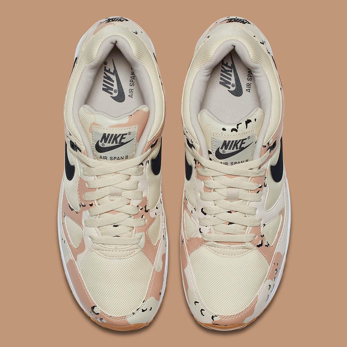 cheap for discount e2899 b7cd9 Nike Air Span II Desert Camo AO1546-200 Available Now   SneakerNews.com