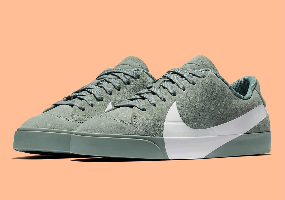 9171024ca0bc The Nike Blazer City Low XS Is Coming Soon In Mica Green