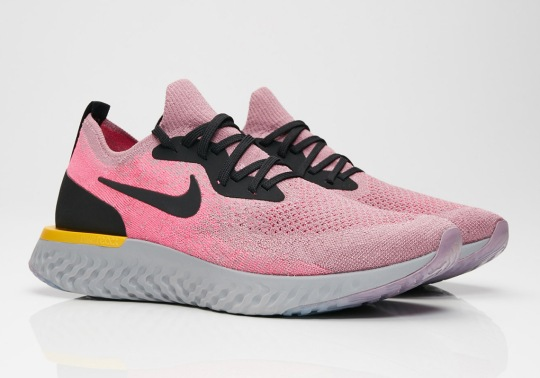 "Nike Epic React ""Plum Dust"" Is Available Now"