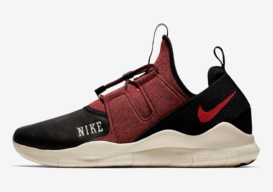 66f77d1badbd0 Nike Free RN Commuter 2018 Varsity AVAILABLE AT Nike  120. Color   Black Light Cream University Red