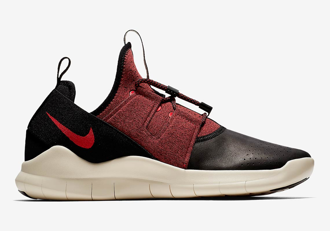 dc19d7c374a08 Nike Free RN Commuter 2018 Varsity AVAILABLE AT Nike  120. Color  Black Light  Cream University Red