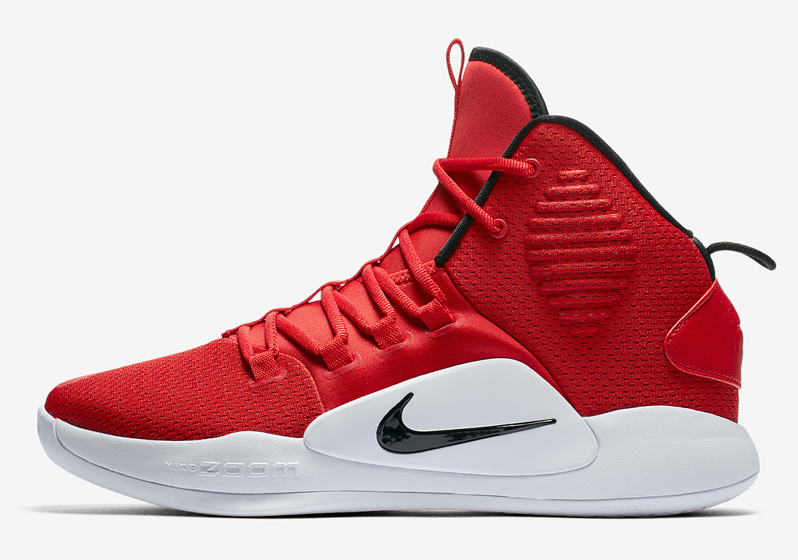 b19e06ac9 Advertisement. Nike Hyperdunk X AVAILABLE AT Nike  130. Color  University  Red White Black