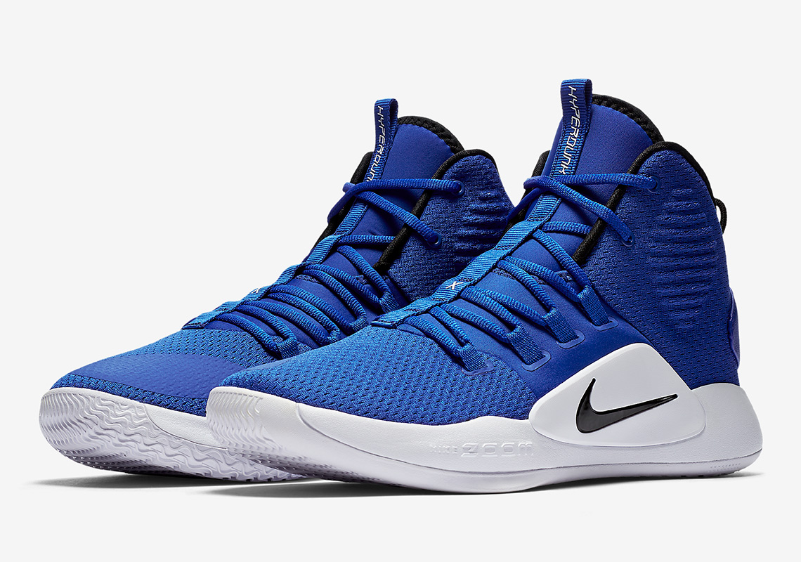 21def4821202 Nike Hyperdunk X Low AVAILABLE AT Nike  120. Color  Game Royal White Black