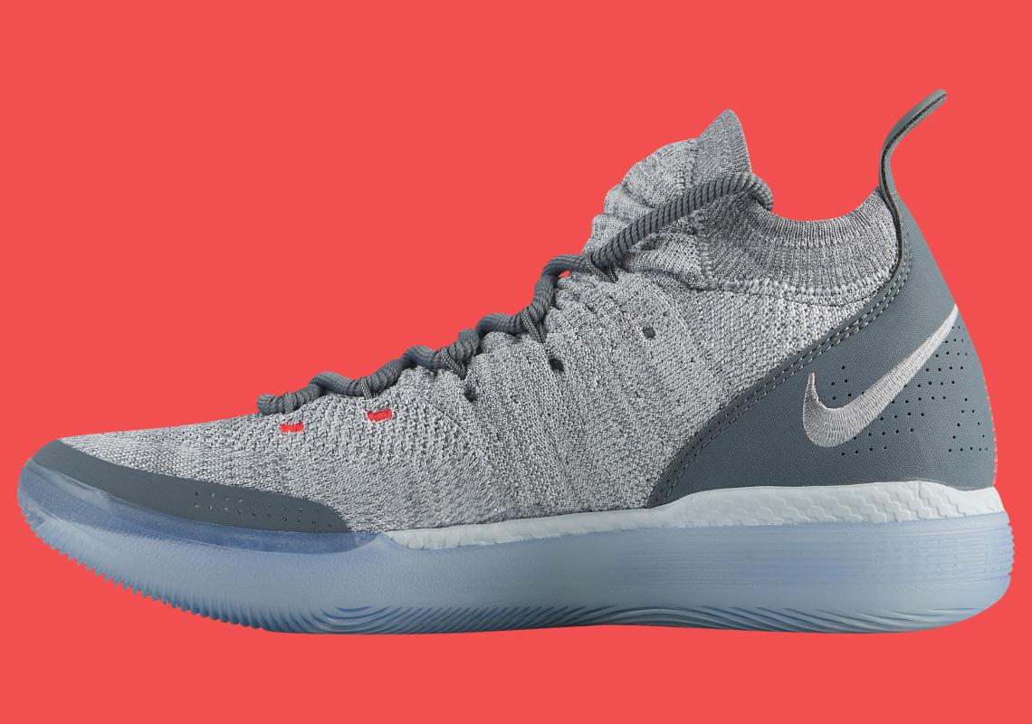 b740159b3fc4 Nike KD 11 Cool Grey AO2604-002 Release Date