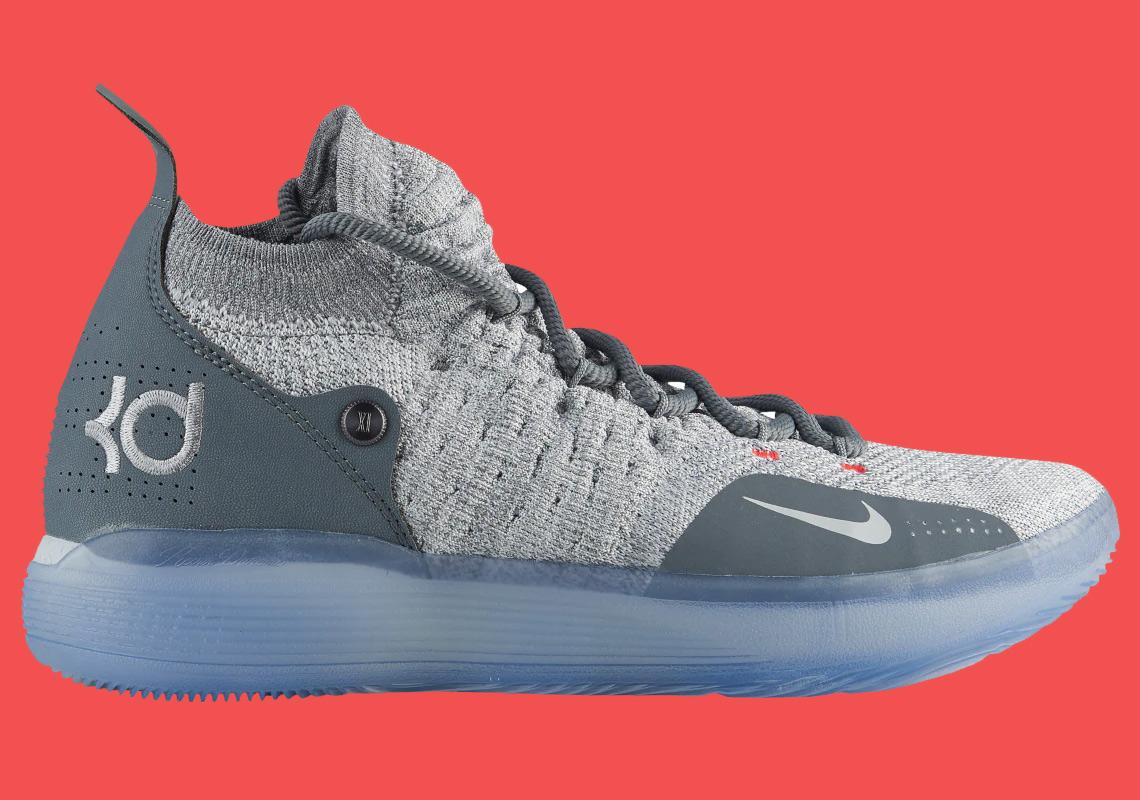 official photos 49dba 2e582 Nike KD 11 Cool Grey AO2604-002 Release Date   SneakerNews.com
