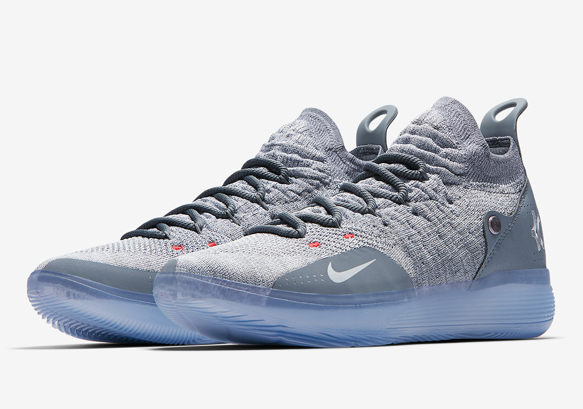 new product 806c7 b3420 Nike KD 11 Cool Grey AO2604-002 Where To Buy   SneakerNews.com