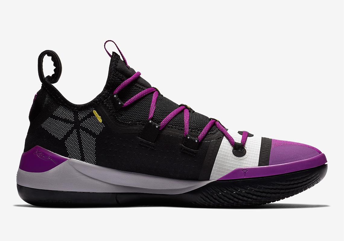 d0cc9b3e480b Kobe Bryant New Shoe Nike Kobe AD Purple Black Yellow