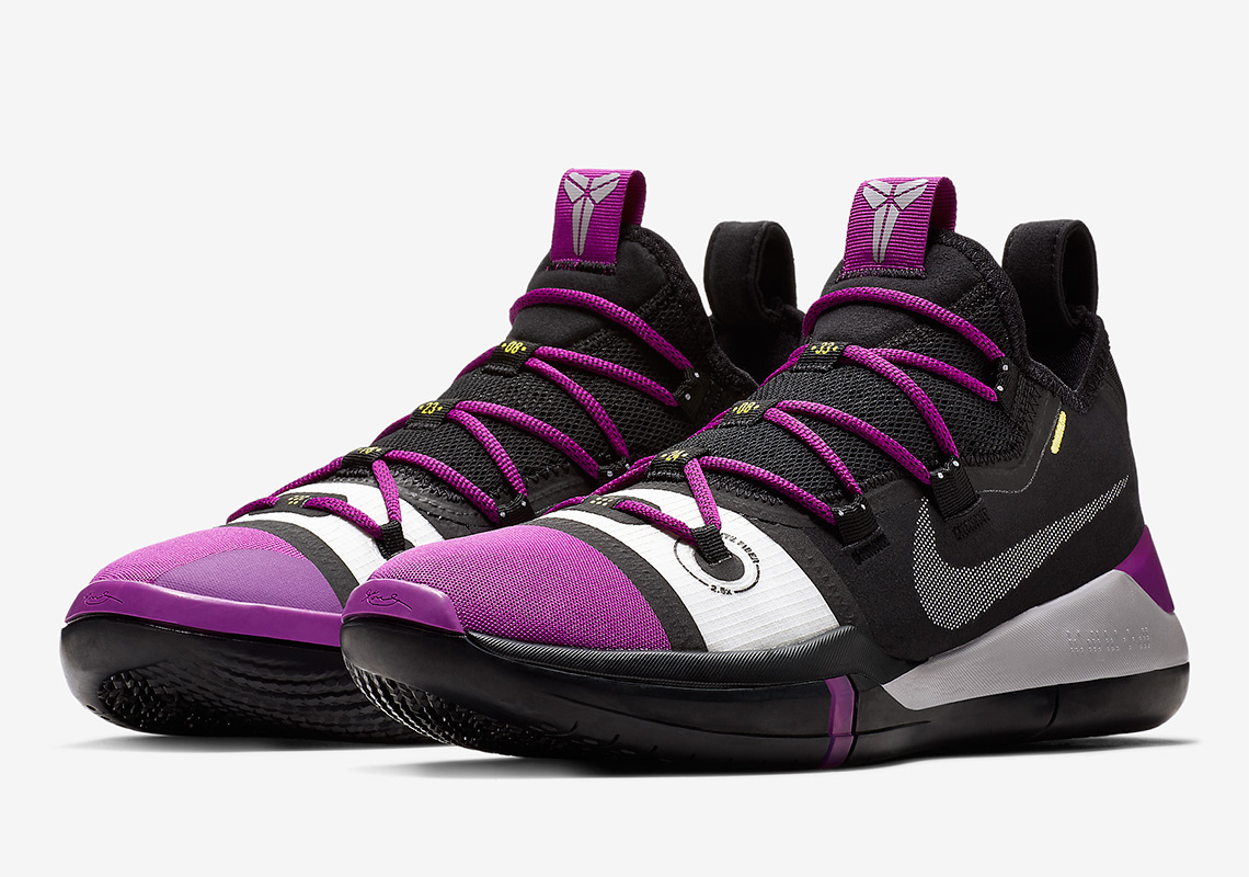 Kobe Bryant New Shoe Nike Kobe Ad Purple Black Yellow Sneakernews Com