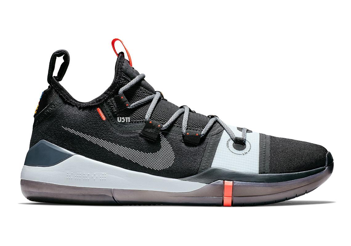 001 Black Nike Shoe Av3555 Ad Kobe Grey Nieuwe xAa0Zw1