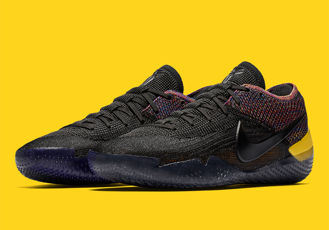 brand new cd3c2 d39ae The Nike Kobe AD NXT 360 Features Black Flyknit