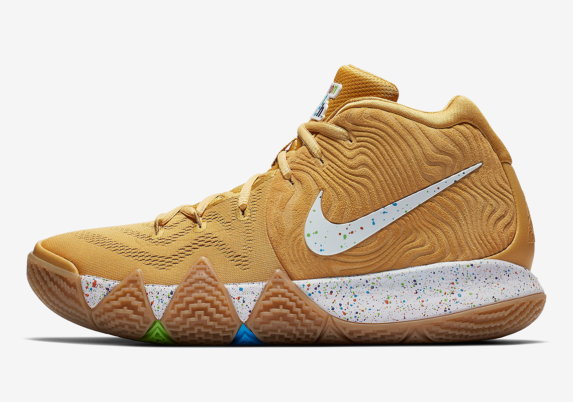 "af92c97dec0a Nike Kyrie 4 ""Cinnamon Toast Crunch"" Release Date  August 11th"