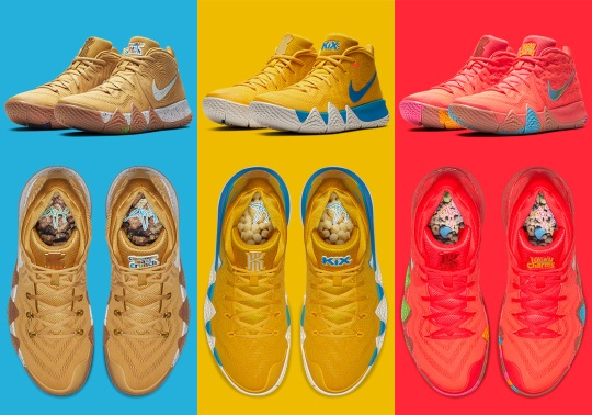 "Where To Buy The Nike Kyrie 4 ""Cereal"" Pack"