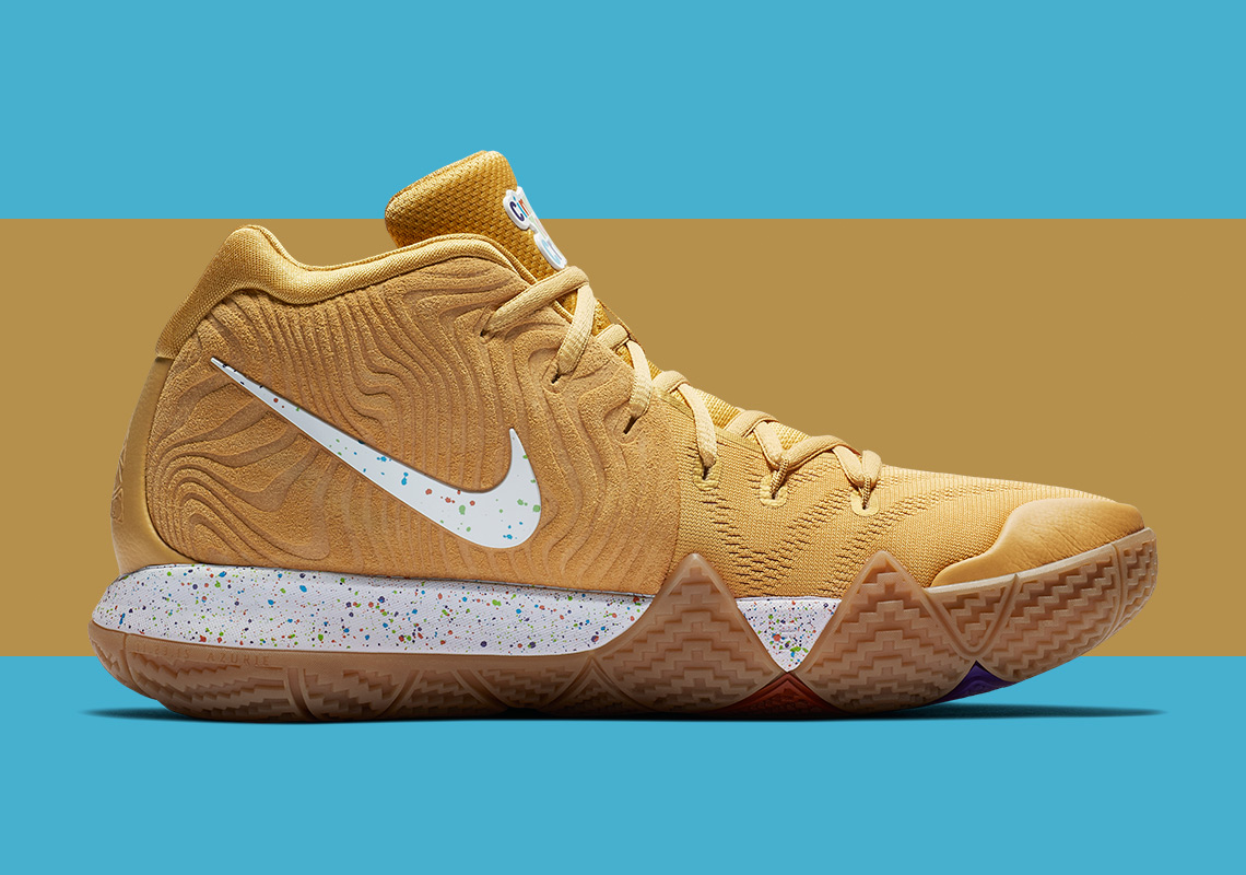 official photos a6d40 b38bf Nike Kyrie 4 Cereal Pack Release Date | SneakerNews.com