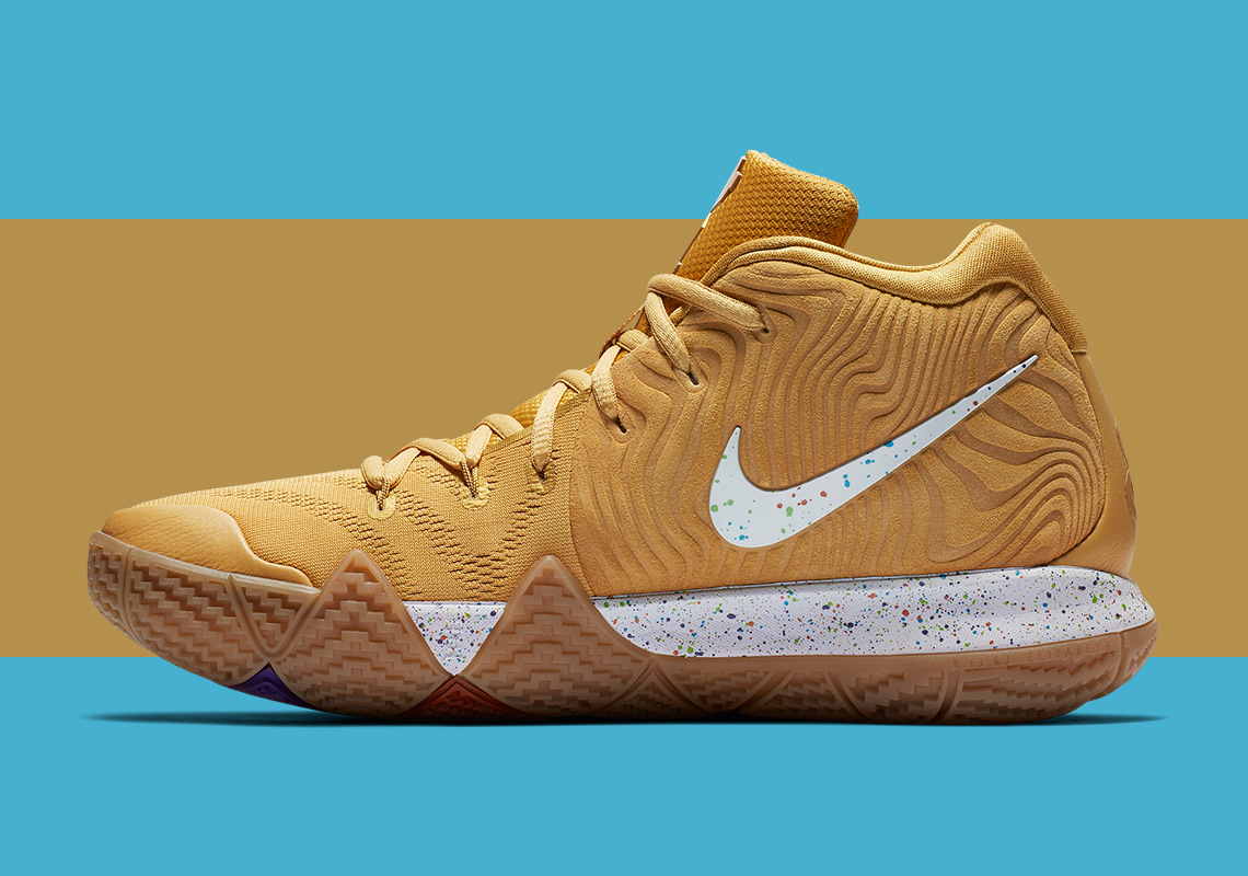 official photos fafe5 f13bd Nike Kyrie 4 Cereal Pack Release Date | SneakerNews.com