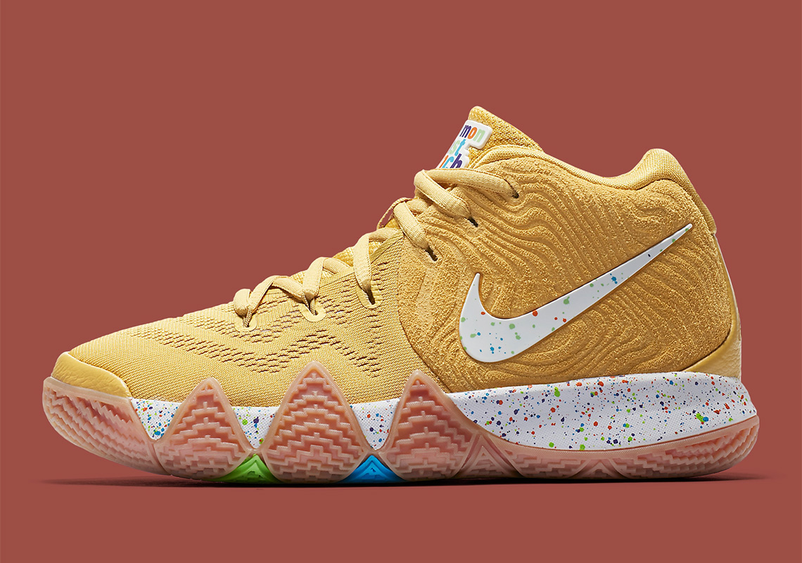 f56be70533a Nike Kyrie 4 Cinnamon Toast Crunch Release Date  August 24th