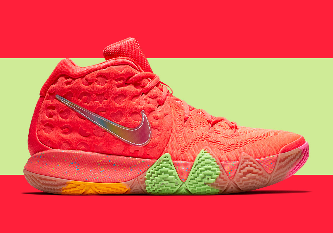 official photos b7d89 cf663 Nike Kyrie 4 Cereal Pack Release Date | SneakerNews.com