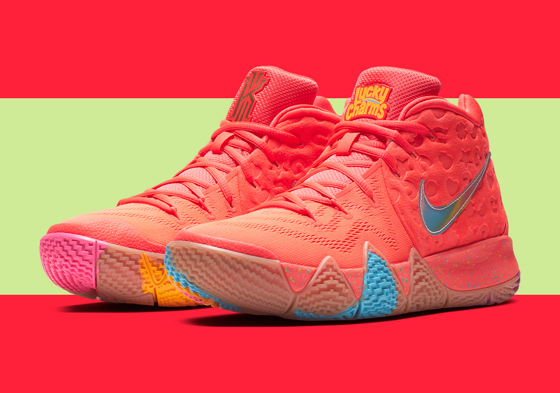 "f19599c47eb Nike Kyrie 4 ""Cinnamon Toast Crunch"" Release Date  August 11th"