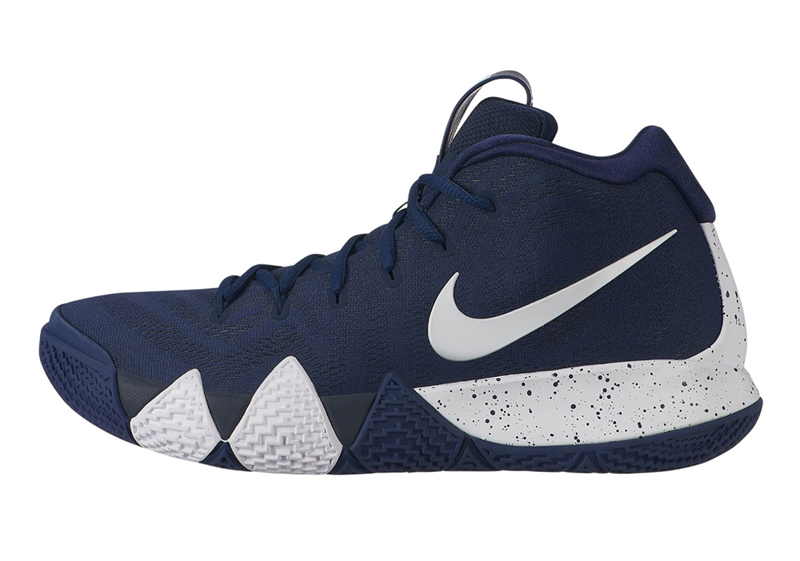 660d442dcf0 Advertisement. Nike Kyrie 4. AVAILABLE AT Eastbay  120. Color  Midnight Navy  White