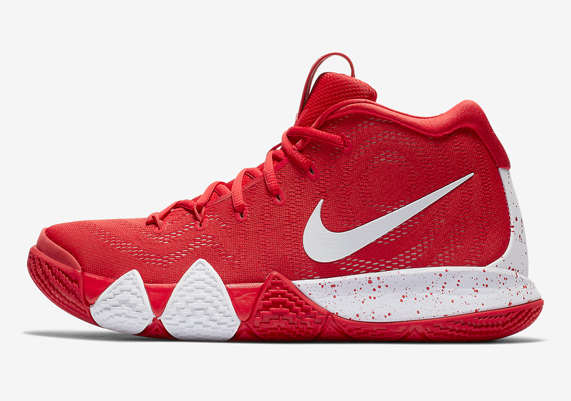 red kyrie 4