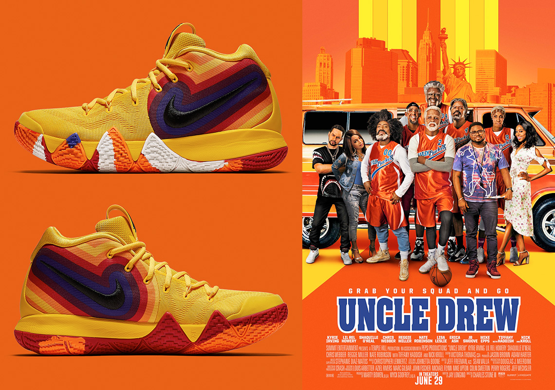 e82c34305348 This Uncle Drew Themed Nike Kyrie 4 Is Releasing In August