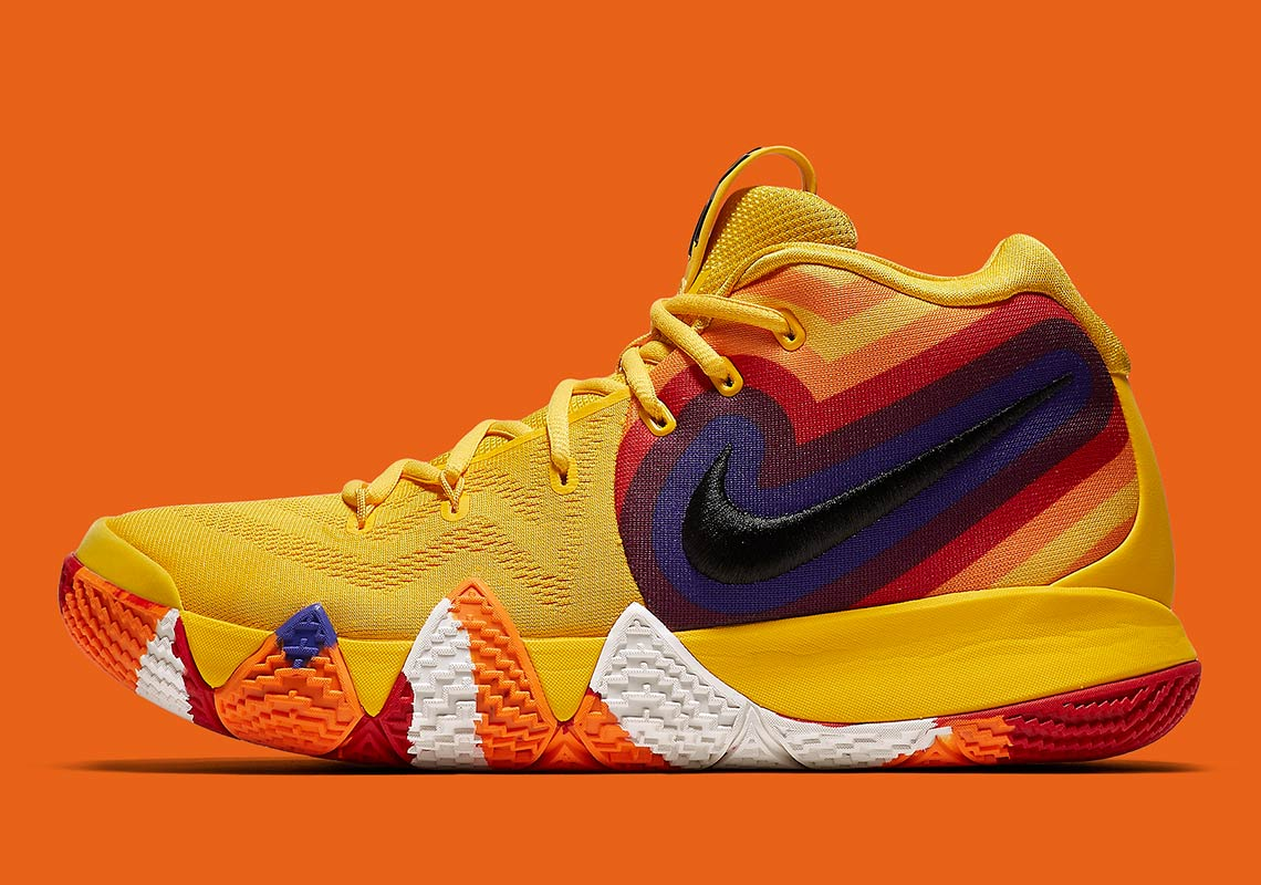 various colors e4bef 9ba81 Nike Kyrie 4 Uncle Drew 943807-700 Release Info ...