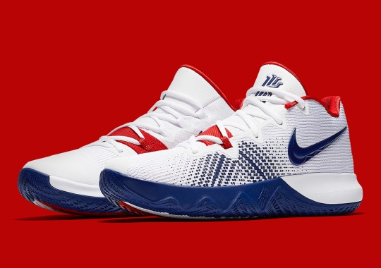 34f7c818acf The Nike Kyrie Flytrap Releases In Team USA Colors