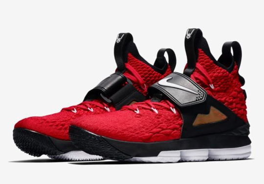 Nike LeBron 15 Red Diamond Turf Edition