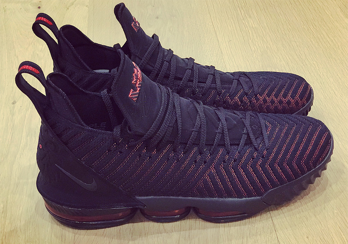 ca7613fb194 LeBron James Officially Unveils The Nike LeBron 16