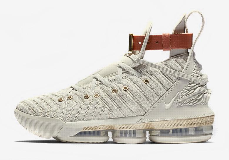 fcb149924518 Nike LeBron 16 Tan - First Look