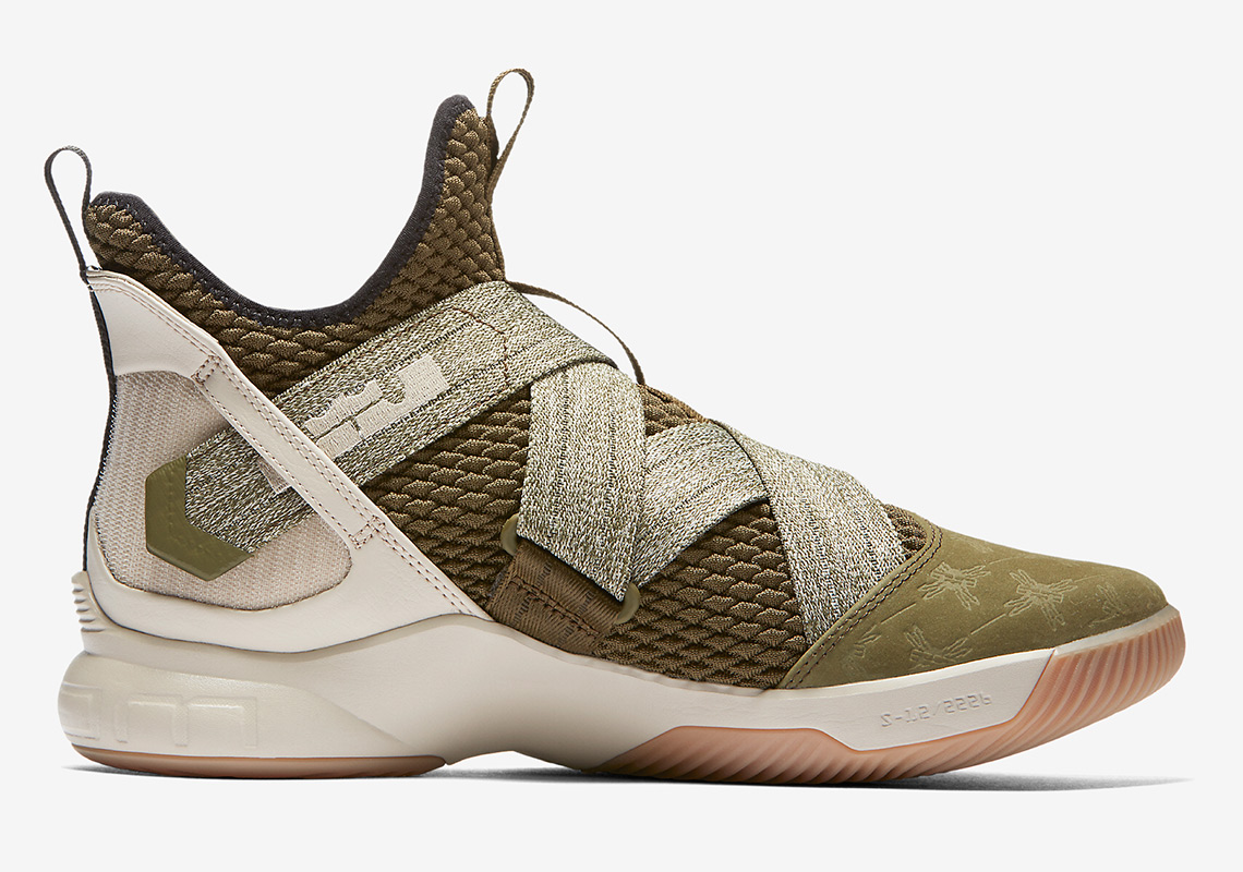 factory price ac488 114e0 Nike LeBron Soldier 12 Land And Sea AO2609-300 | SneakerNews.com