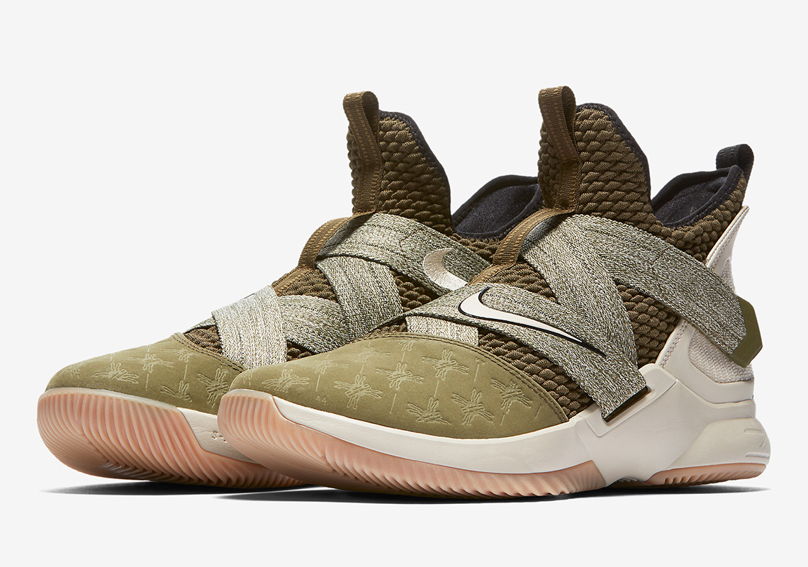 factory price b771d 7d0ac Nike LeBron Soldier 12 Land And Sea AO2609-300 | SneakerNews.com