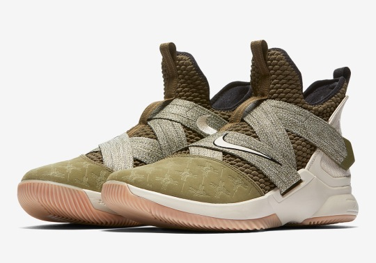 "This Nike LeBron Soldier 12 Completes The ""Land And Sea"" Pack"