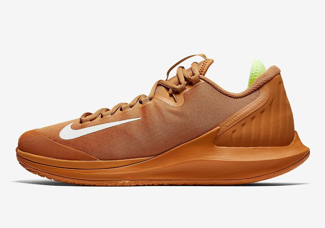 2976e397bdbf NikeCourt Air Zoom Zero HC AVAILABLE AT Nike  130. Color  Flax Volt  Glow White Style Code  AA8018-200