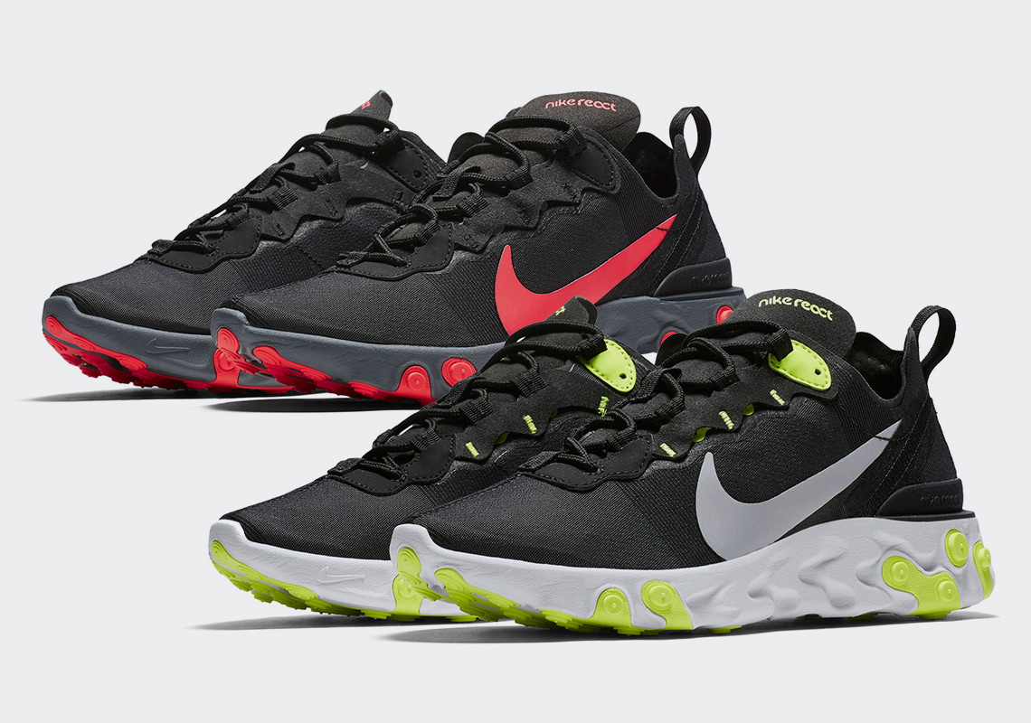 4233af2a3de9 First Look At The Nike React Element 55