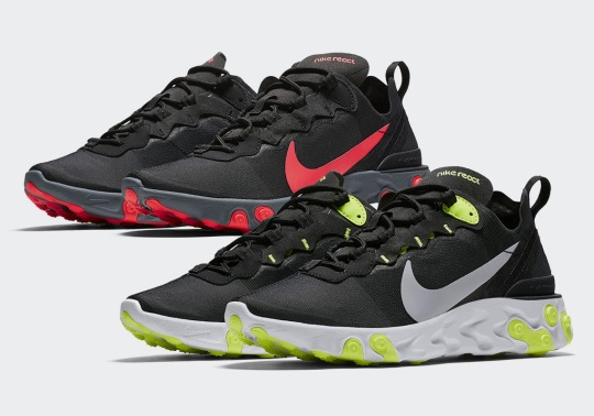 First Look At The Nike React Element 55