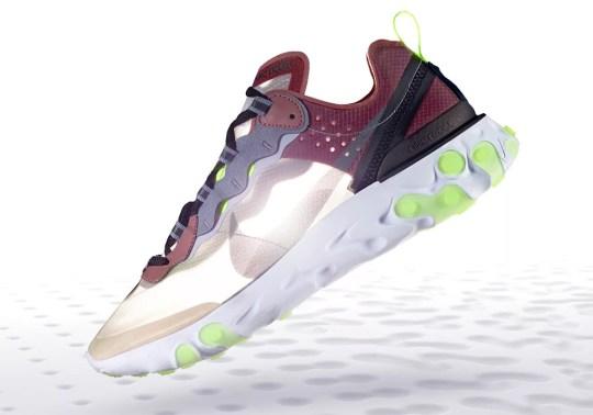 """Release Info For The Nike React Element 87 """"Desert Sand"""""""