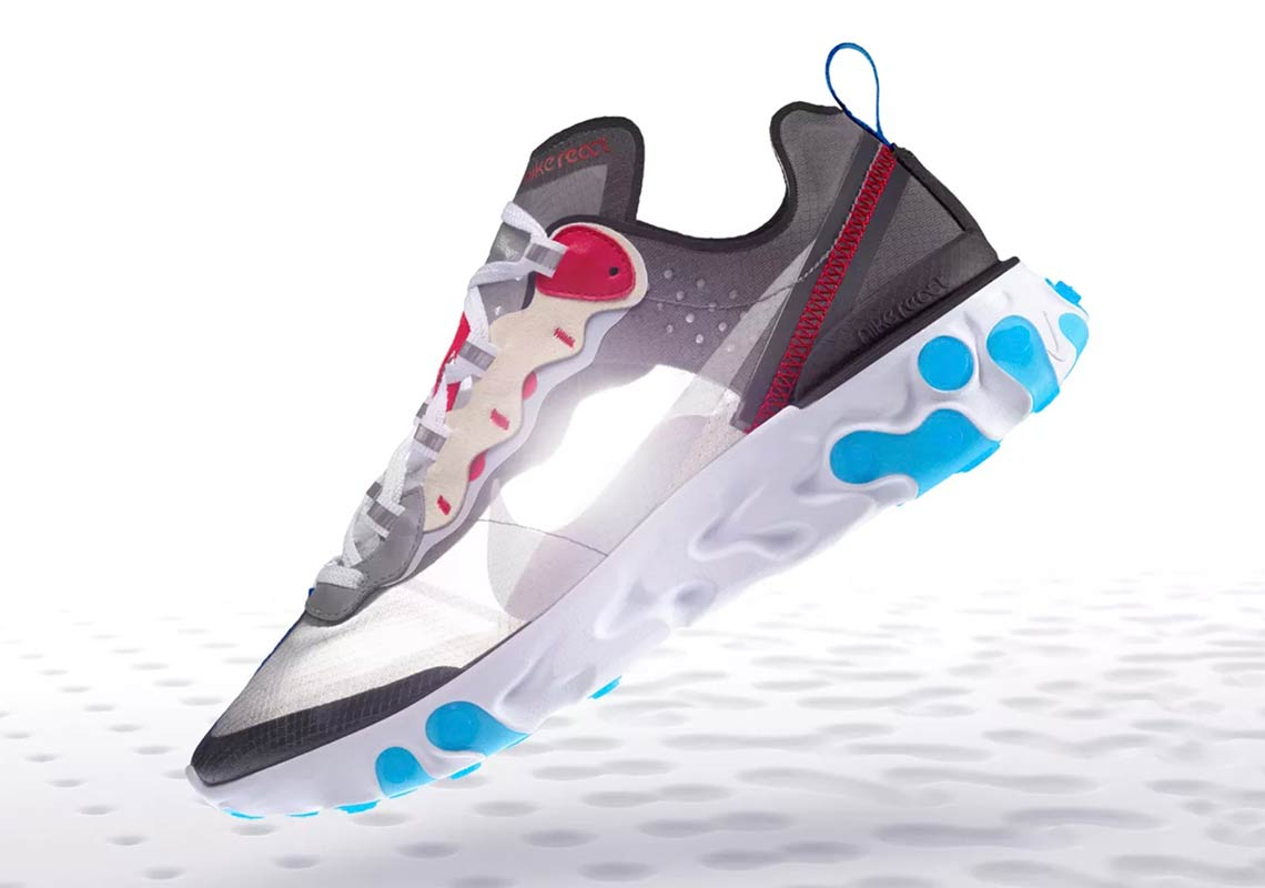 18ffc12c04f1 Where To Buy Nike React Element 87 Desert Sand + Dark Grey ...