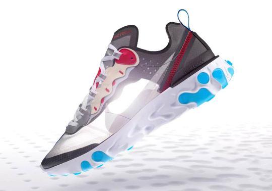 "Where To Buy: Nike React Element 87 ""Desert Sand"" and ""Dark Grey"""