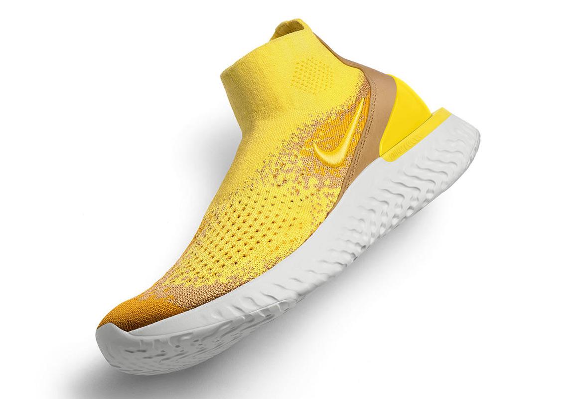 7d030bd9609c Nike Rise React Flyknit - Release Info