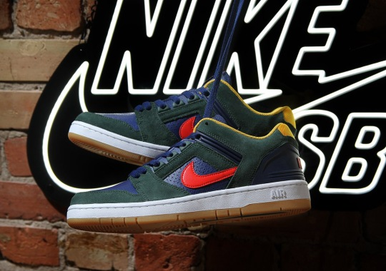 90's Streetwear Themes Arrive On The Nike SB Air Force 2 Low